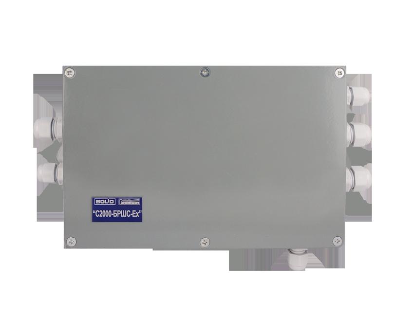 Блок расширения шлейфов сигнализации С2000-БРШС-Ех